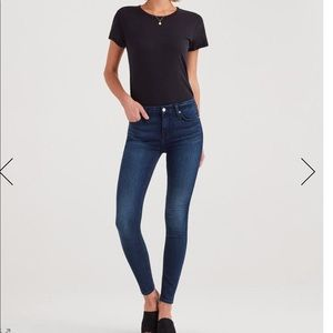 NWT 7 For All Mankind b(air) skinnies